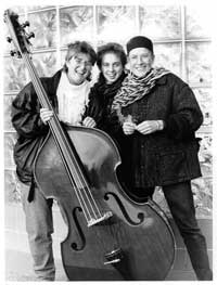 Rose Vaughn Trio in the early 1990s
